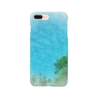 うろこ雲〜! Smartphone cases