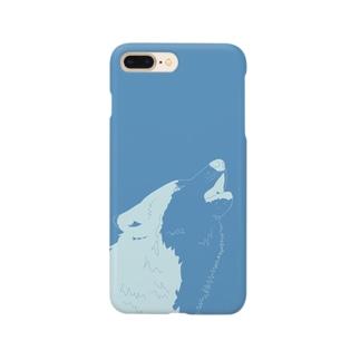 オオカミ Smartphone cases
