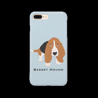 harupii_0203のBasset Hound Smartphone cases