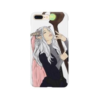 未来を占う魔女 Smartphone cases