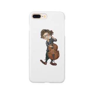 チェロと少年 Smartphone cases