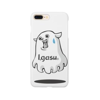 I.gasu mendako【アイガス】 Smartphone cases