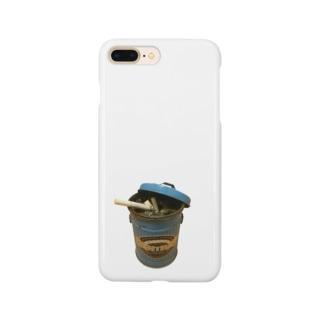 ゴミ箱灰皿 Smartphone cases