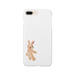甘えんぼウサギ【ゆめかわアニマル】 Smartphone cases