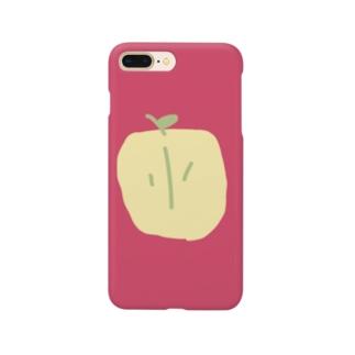 シンプル × 林檎 Smartphone cases