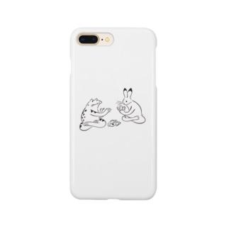 鳥獣戯画 トランプ Smartphone cases
