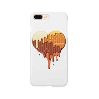 チョコハート Smartphone cases