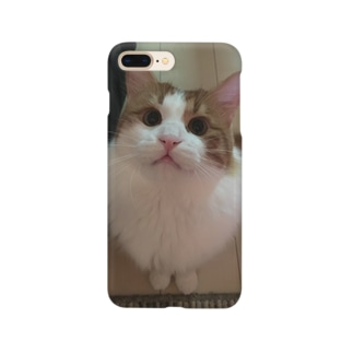 見上げる猫 Smartphone cases