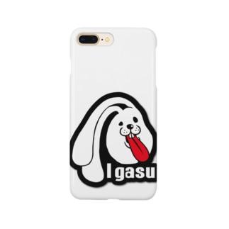I.gasu ラバー【アイガス】 Smartphone cases