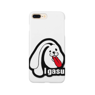 I.gasu🄬アイガスワールドのI.gasu ラバー【アイガス】 Smartphone cases