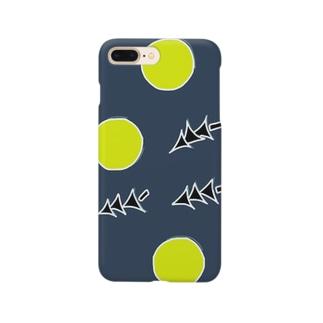 夜 ×  灯 × 木 Smartphone cases