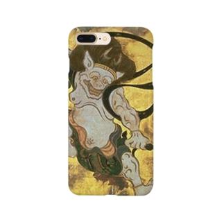 俵屋宗達『風神雷神』の雷神 Smartphone cases