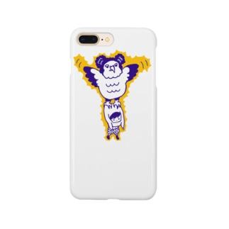 カンムリクマタカ Smartphone cases