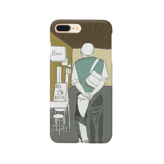 オサキミグのふらっとひとり飲み Smartphone cases