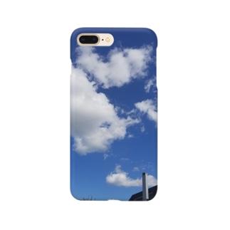 ふぁっショーン blue Smartphone cases