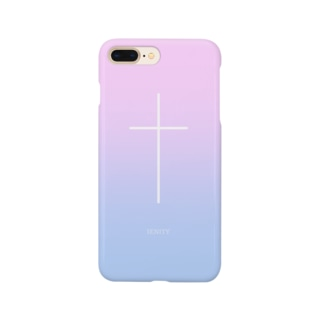 【IENITY】SIMPLE CROSS #Gradation Smartphone cases