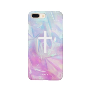 【IENITY】HOLOGRAPHIC #CROSS Smartphone cases