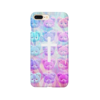 【IENITY】HOLOGRAPHIC BEAR Ver.A Smartphone cases