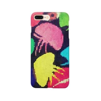 サイコクラゲ Smartphone cases