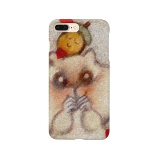 どんぐりとリス Smartphone cases