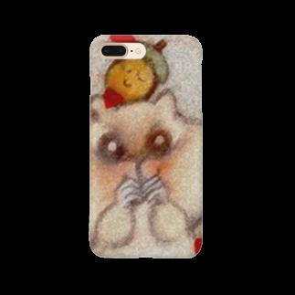 YONEのどんぐりとリス Smartphone cases