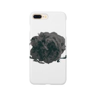 バラモチーフBK Smartphone cases