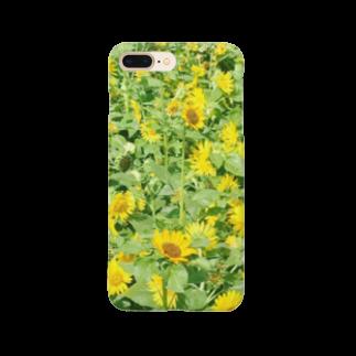 stmgalleryの夏の太陽と向日葵 Smartphone cases