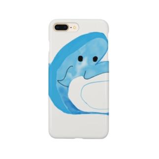 まゆもち店のイルカジャーンプ!! Smartphone cases
