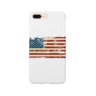 星条旗デザイン Smartphone cases