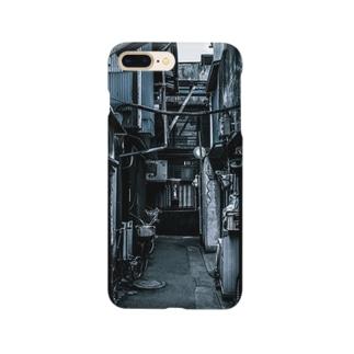 モノトーンな路地裏 Smartphone cases