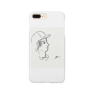 bird clipsのface Smartphone cases