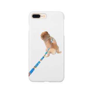 ねむくんおトイレ中 Smartphone cases