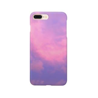 ピンクの空 Smartphone cases