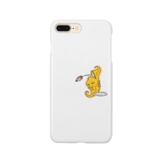 おつきさんロケット Smartphone cases