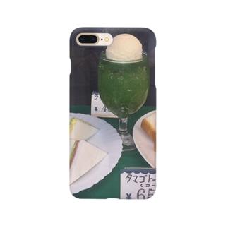 メロンとタマゴ Smartphone cases