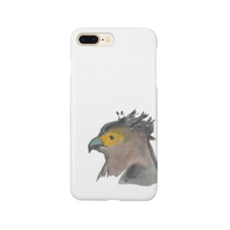 カンムリワシ Smartphone cases