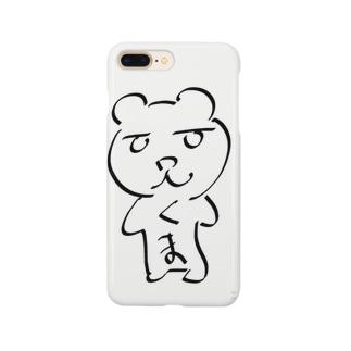 ゆるくま Smartphone cases