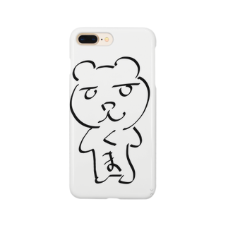 A&Aのゆるくま Smartphone cases