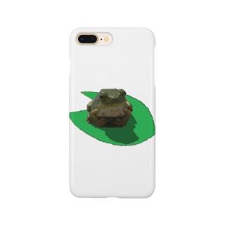 カエルのゲコ Smartphone cases