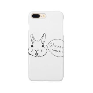 mamentmoriのおやつくださいレッキス Smartphone cases