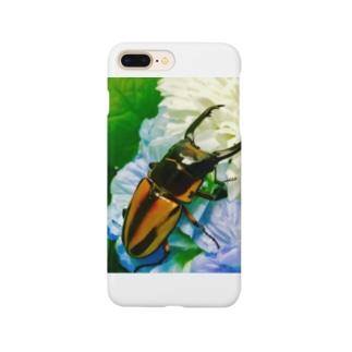 クワガタ ☆ファブリース2☆ Smartphone cases