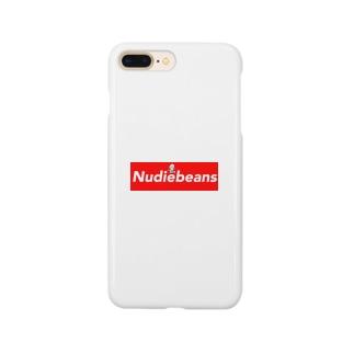 nudiebeans logo スマートフォンケース
