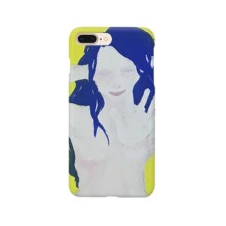 ポージング裸女 Smartphone cases