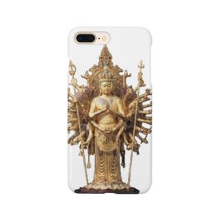 千手観音 Smartphone cases