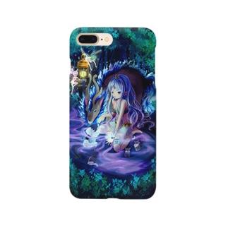 森の中の少女 Smartphone cases