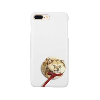 散歩イヤイヤ犬★柴犬 Smartphone cases