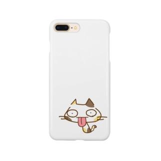 なんかうざいネコMIKE Smartphone cases