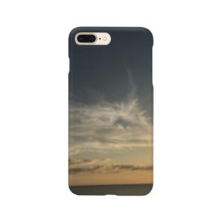 夕陽の空 Smartphone cases