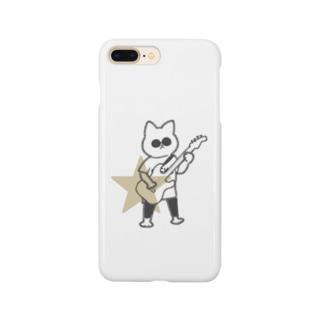 Illustrator_sumikoのギターシティニャンコ Smartphone cases