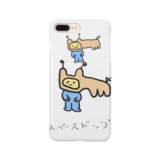 スペースドッグ Smartphone cases